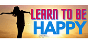 How can one learn to live a happy life?